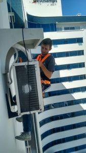 Rapel - Instalação ar condicionando Predial