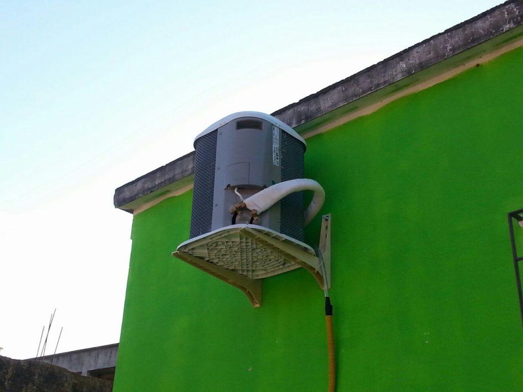 Instalação ar condicionando predial
